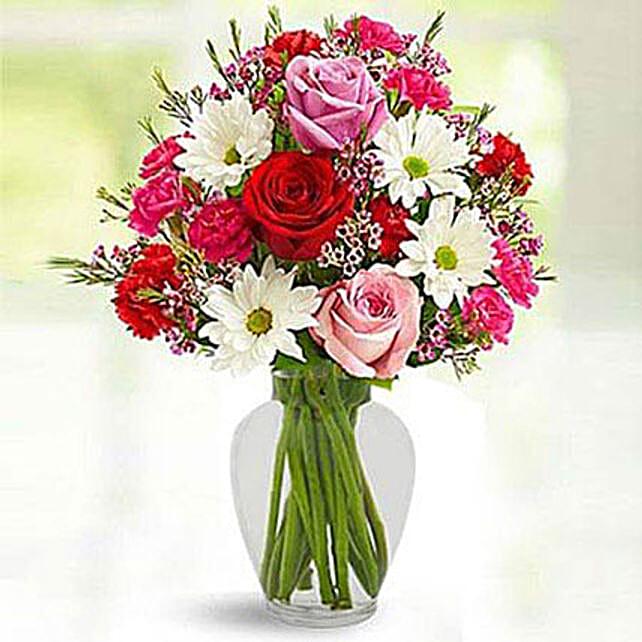 Love Birds Bouquet: Send Carnation Flower to Singapore