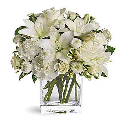 White Beauty: Sympathy and Funeral Flower Singapore