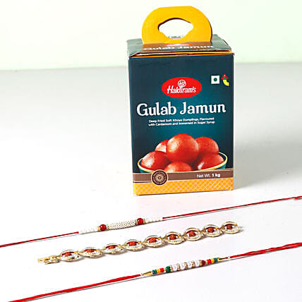 Delicious Rakhi Combo For Brother: Rakhi Gifts for Brother to Singapore