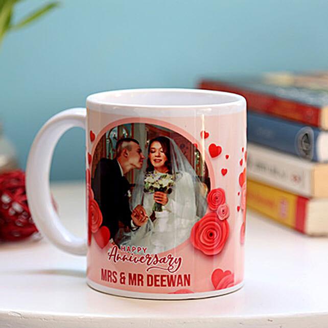 Personalised Anniversary Mug: