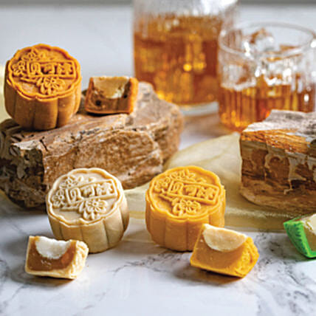 Set Of 8 Pcs Truffle Mooncakes: Send Mid Autumn Gifts to Singapore