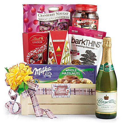 Premium Snacks and Tea Hamper: Send Christmas Gift Hampers to Singapore