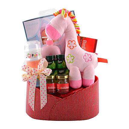 Thoughtful Baby Gift Hamper: Gift Baskets to Singapore