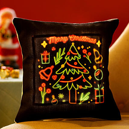 Christmas Tree LED Cushion: Gifts for Kids to Singapore
