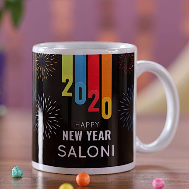 Personalised New Year Name Mug For Her: Mugs to Singapore