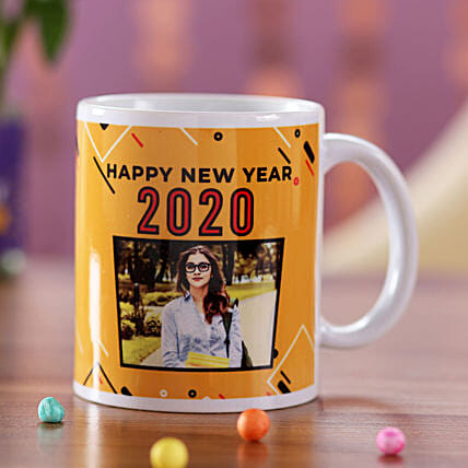 Personalised New Year Wishes Mug For Her: Mugs to Singapore
