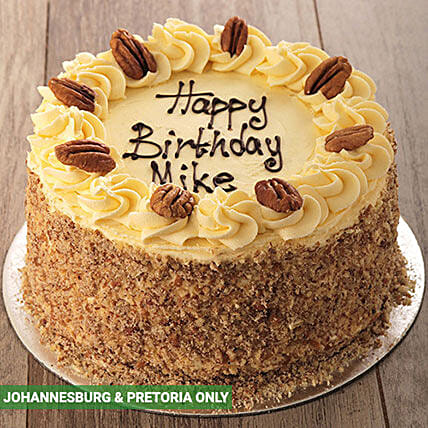 Carrot and Pecan with Cream Cheese Icing: Cake Delivery in South Africa