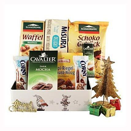 Sweet Moments Diabetic Gift Basket: Send Corporate Gifts to Spain