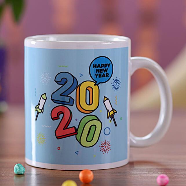 Happy New Year 2020 Mug: Send Corporate Gifts to Sri Lanka