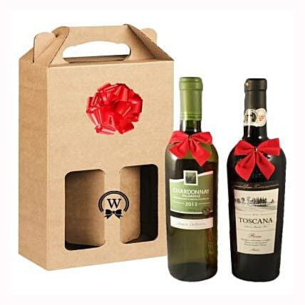 Classic Dual Italian Wines: Send Valentines Day Gifts to Sweden