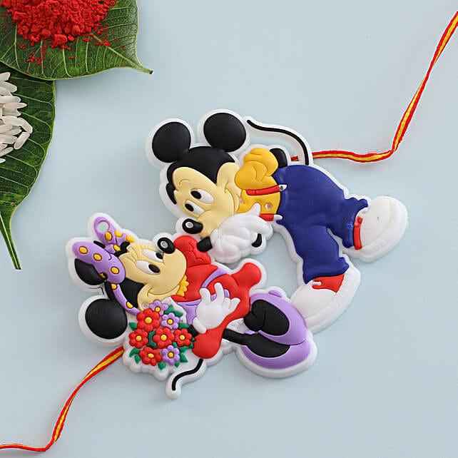 Micky Mouse Kids Rakhi: Rakhi for Kids in Sweden