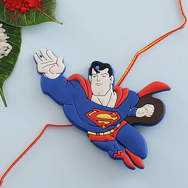 Superman Kids Rakhi: Rakhi for Kids in Sweden
