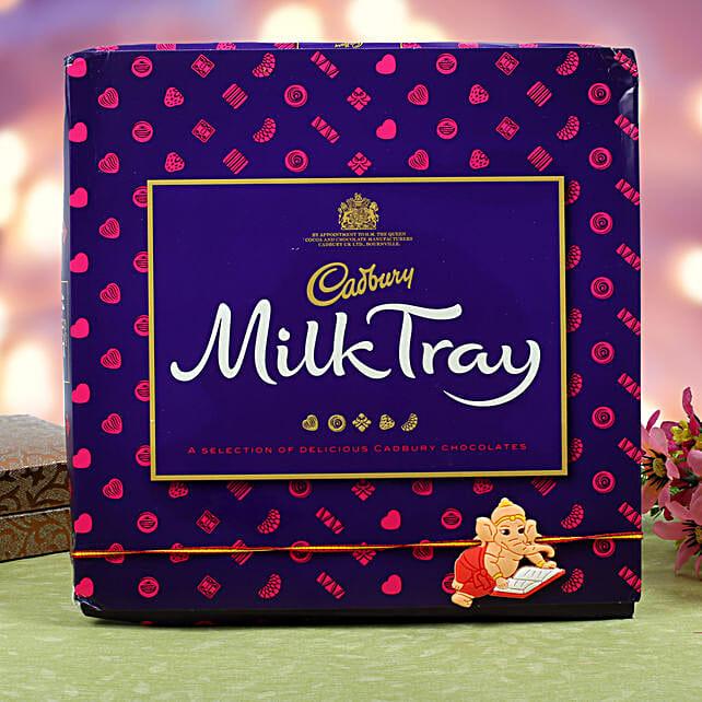 Kids Rakhi Cadbury Milk Chocolate Hamper: Rakhi for Kids in Sweden