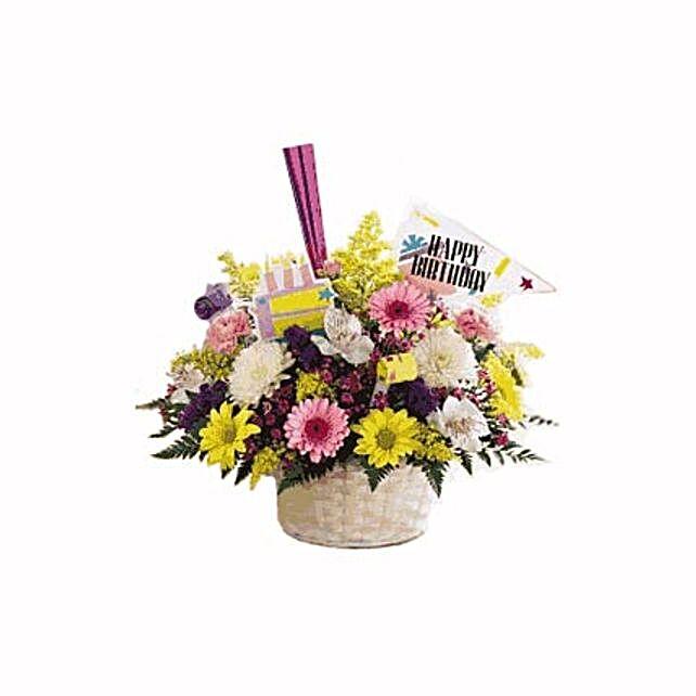 Birthday Bliss: Flower Arrangements in Thailand