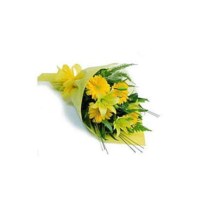 Golden Glory: Flower Arrangements to Thailand