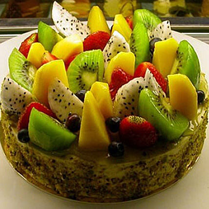 Fruit Cake: Send New Year Gifts to Thailand
