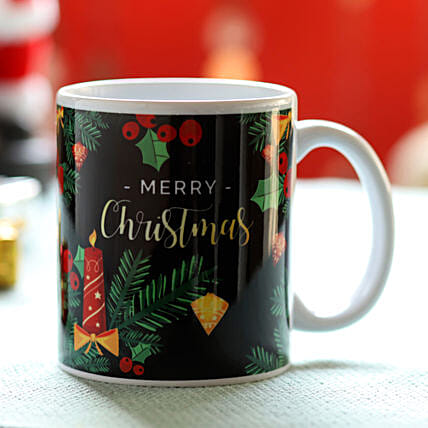 Christmas Greetings White Mug: Gifts Offers - Thailand