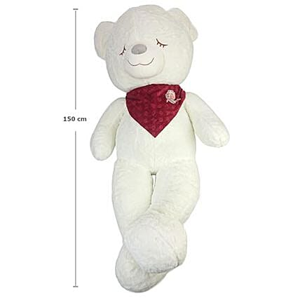 Love Everything About You White Teddy: Valentine's Day Gifts to Thailand