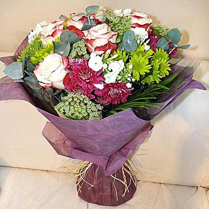 Amalgamation of the Nature: Same Day Flower Bouquet Delivery in Dubai