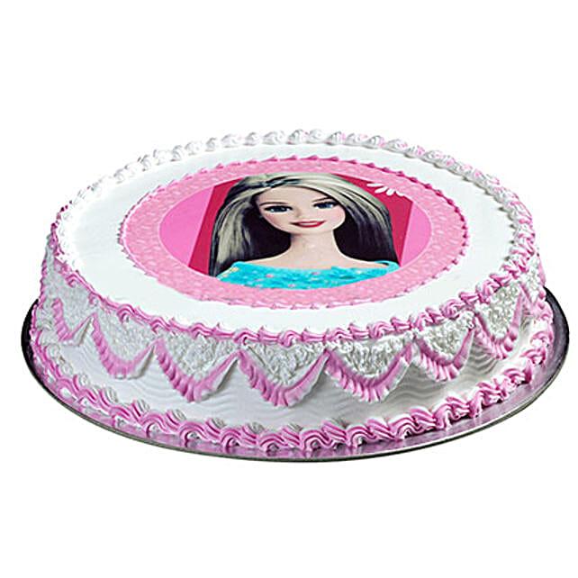 Barbie Special Cake: