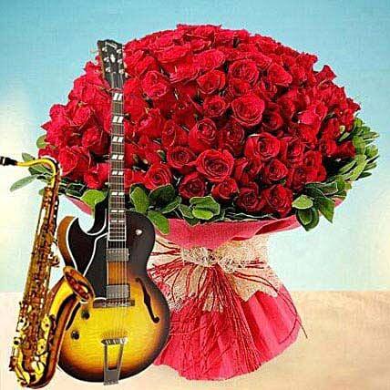 Beautiful Blossoms: Flowers With Guitarist Service in UAE