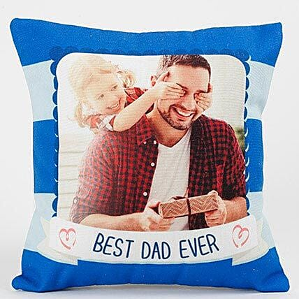 Best Dad Ever Personalized Cushion: Father's Day Presents to UAE