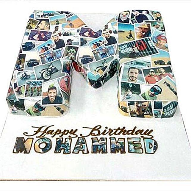 Birthday Cake with Picture: Send Birthday Photo Cakes to UAE