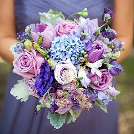 Bridal Bouquet Charisma: Send Tulip Flowers to UAE