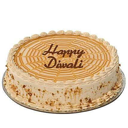 Butterscotch Diwali Cake: Send Diwali Cakes to UAE