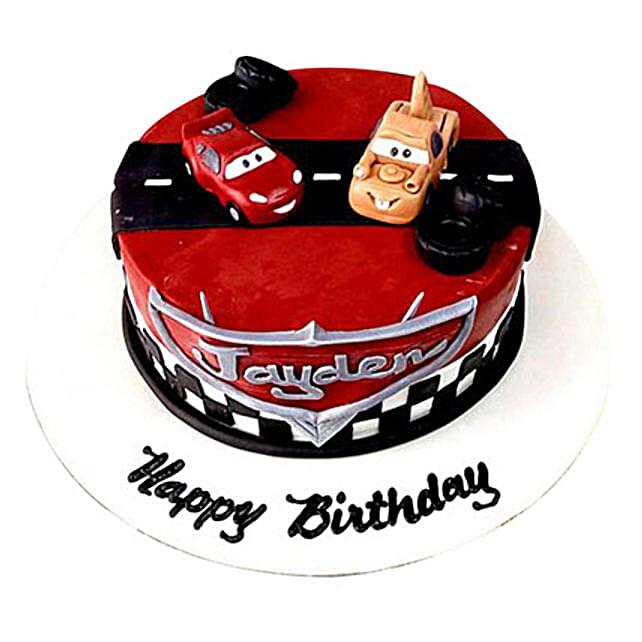 Cars movie Cake: