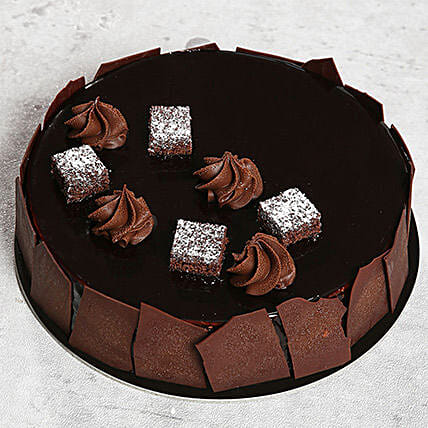 Chocolate Sponge Cake: Send Birthday Cakes to Sharjah