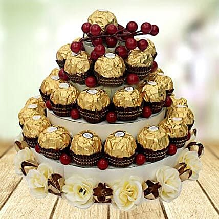 Chocolate Tower: