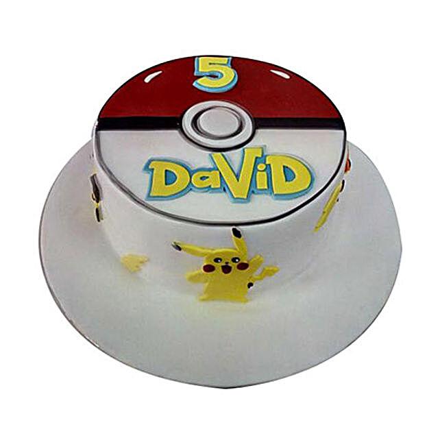 Classic Pokemon Cake: Cartoon Cake Delivery in UAE