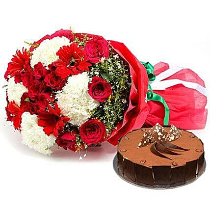 Dazzling n Delicious: Cake and Flowers Delivery in Dubai