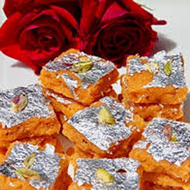 Delicious Moong Daal Barfi: Bhai Dooj Sweets to UAE