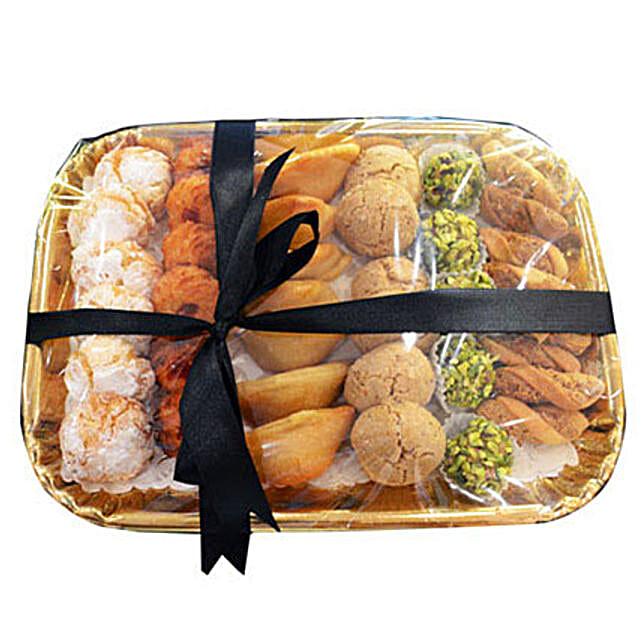 Deluxe Sweet N Savory Tray: Send Ramadan Sweets to UAE