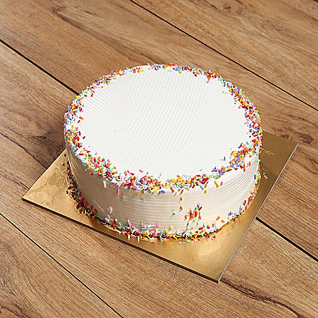 Eggless Rainbow Cake: Eggless Cake Delivery in UAE