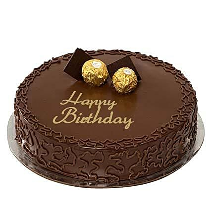 Ferrero Rocher Birthday Cake: Send Birthday Gifts to Sharjah
