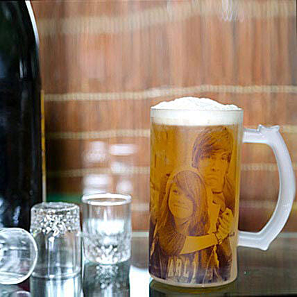 Funtime Personalize Beer Mug: Personalised Gifts to UAE