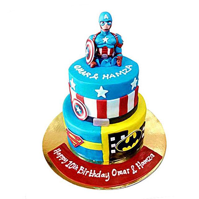Hero Cake: Cartoon Cake Delivery in UAE