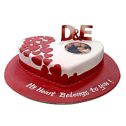 Little Hearts Cake: Personalized Gifts Dubai UAE