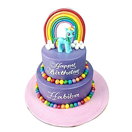 Little Pony Cake: Cartoon Cake Delivery in UAE
