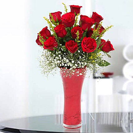 Long Stem Red Roses: Send Mothers Day Flowers to Ajman