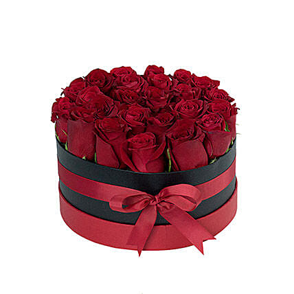 Magical Roses Arrangement: Send Valentines Day Flowers to UAE