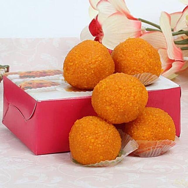 Motichoor Laddoo Box: Diwali Sweets to Sharjah