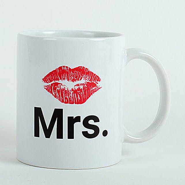 Mrs Ceramic Mug: Valentine's Day Gifts for Her to UAE
