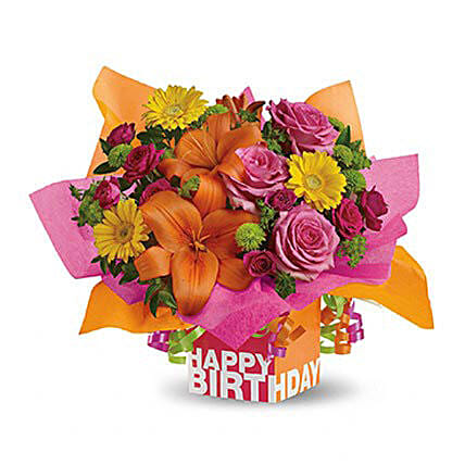 Rosy Birthday Present: Flower Delivery in Ras Al Khaimah