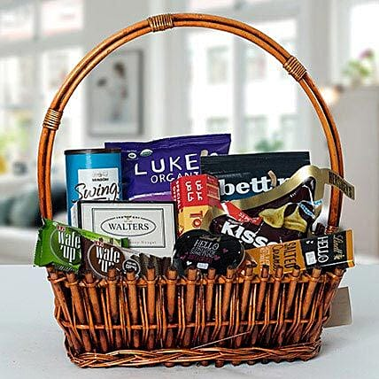 Small Basket Chocolate Wonder:
