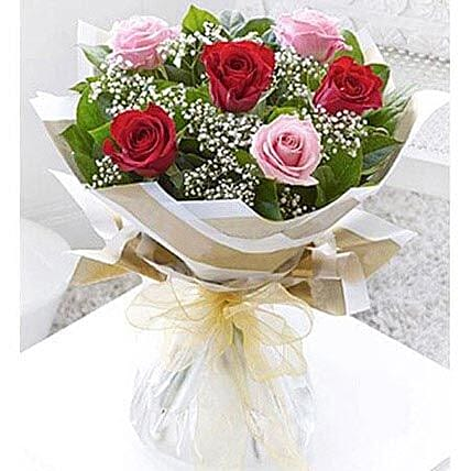 Stolen Kisses Bouquet: Send Fathers Day Flowers to UAE