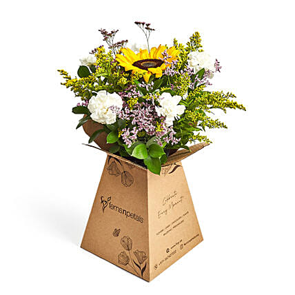 Sunshine love: Same Day Flower Bouquet Delivery in Dubai